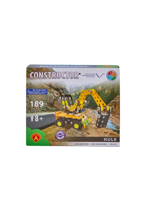 Constructor Hulk Excavator Kit