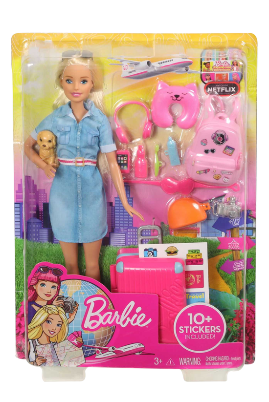 Barbie Travel Doll Assorted