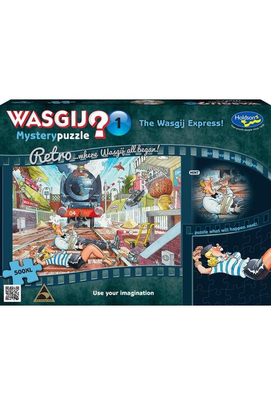Wasgij Retro Mystery #01 The W...