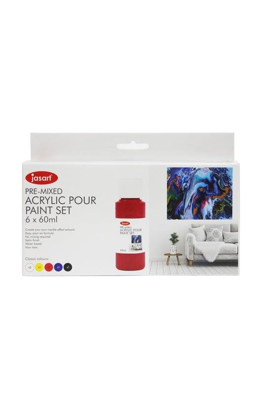 Jasart Acrylic Pour Paint 60ml...