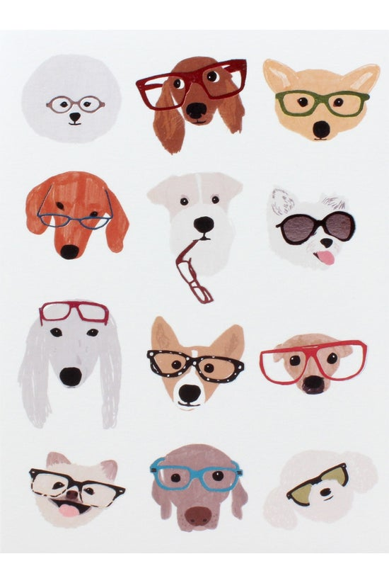 Papyrus Blank Card Dogs And Gl...