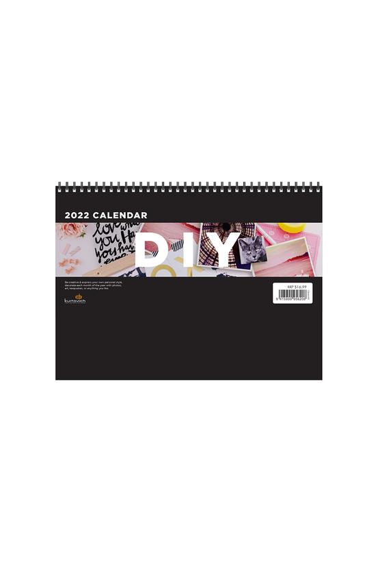 2022 Diy Wall Calendar Black