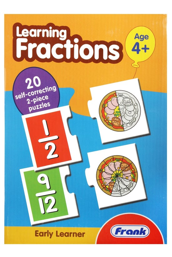 Frank Learning Fractions Puzzl...