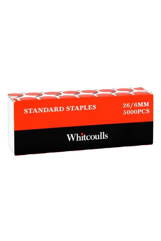 Whitcoulls 26/6 Staples Box 50...