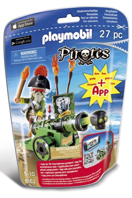 Playmobil Pirates Green Cannon...
