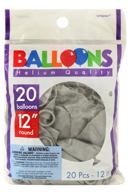 Amscan Latex Balloons 30 Cm Me...
