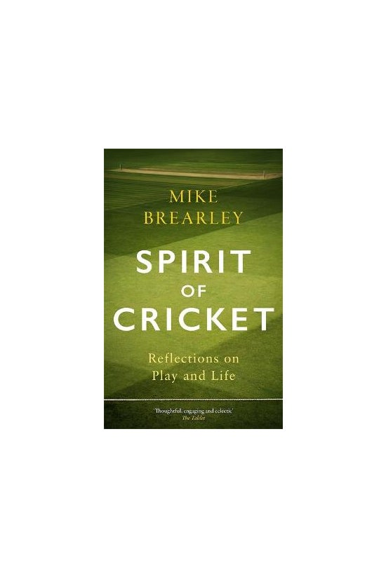 Spirit Of Cricket: Reflections...