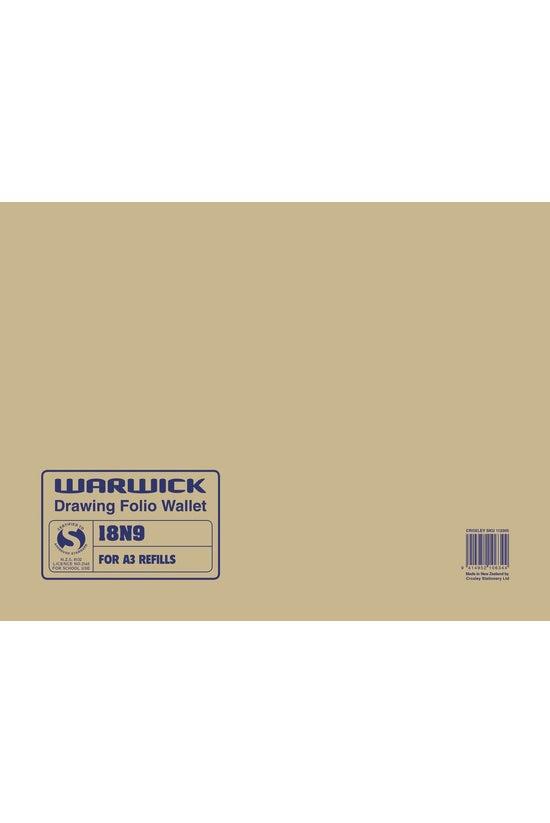 Warwick Drawing Wallet 18n9 A3