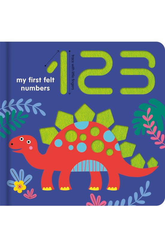 Chunky Felt Books: 123