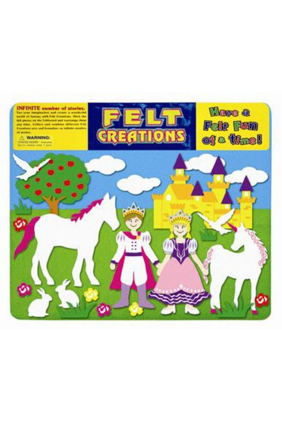 Felt Creations Princess Castle