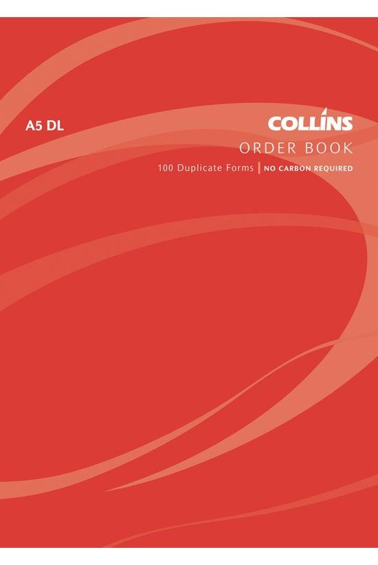 Collins Order Book A5 Dl Ncr 1...