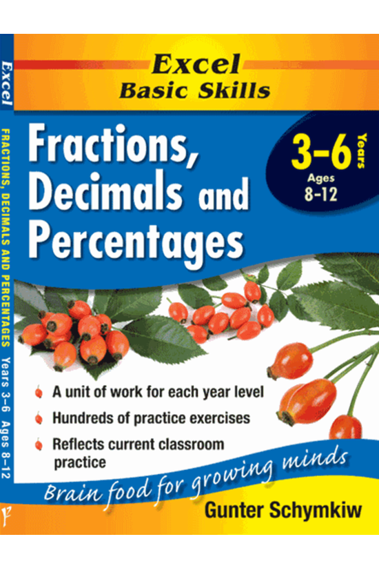 Excel Basic Skills Years 3-6 F...