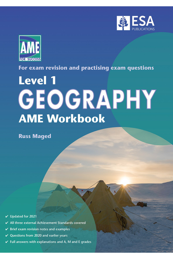 Ncea Level 1 Geography Ame Wor...