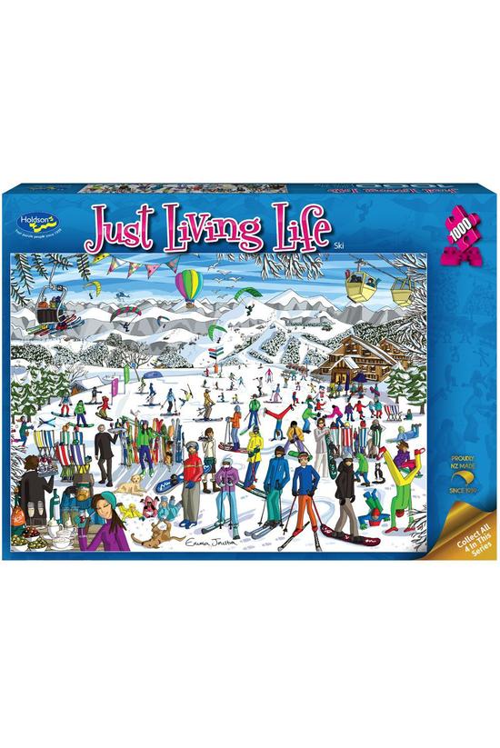 Just Living Life: Ski 1000 Pie...