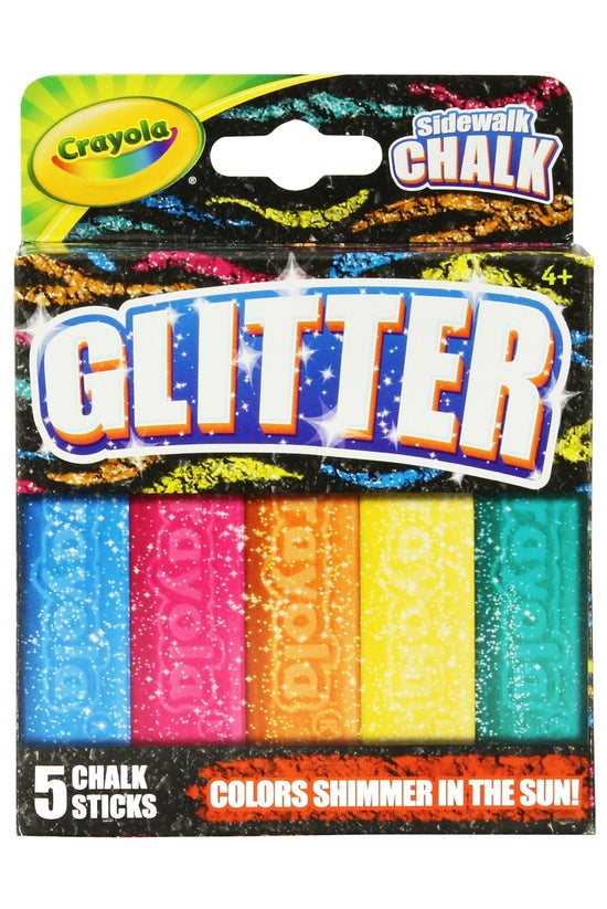 Crayola Glitter Sidewalk Chalk...