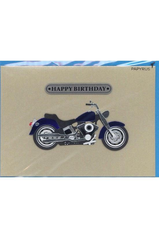 Papyrus Card Birthday Motorcyc...