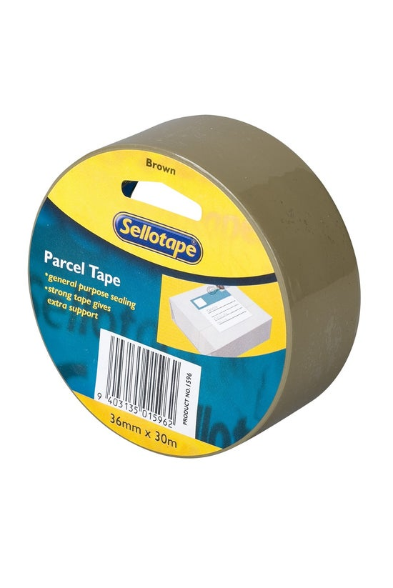Sellotape Packing Tape Brown 3...