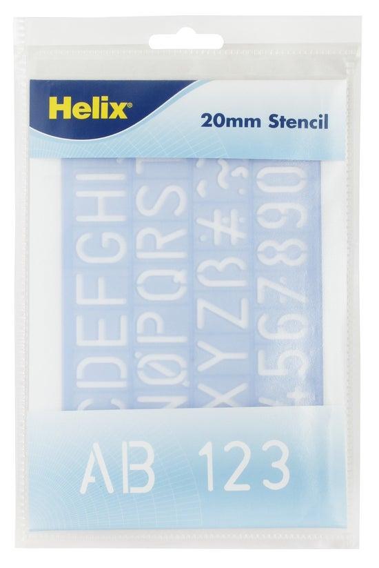 Helix Stencil Alpha Upper 20mm...