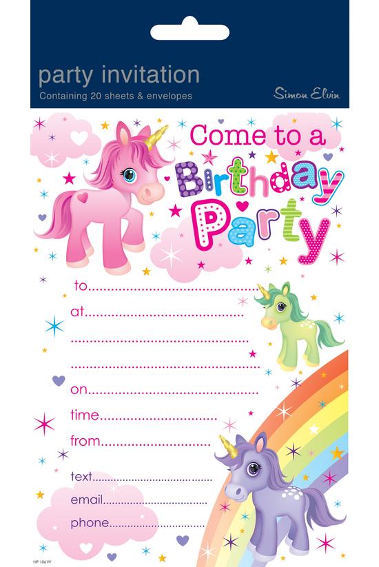 Birthday Invitations & Env...