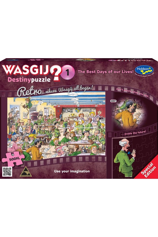 Wasgij Retro Destiny #01 The B...