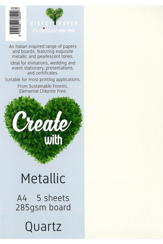 Direct Paper Metallic A4 Board...
