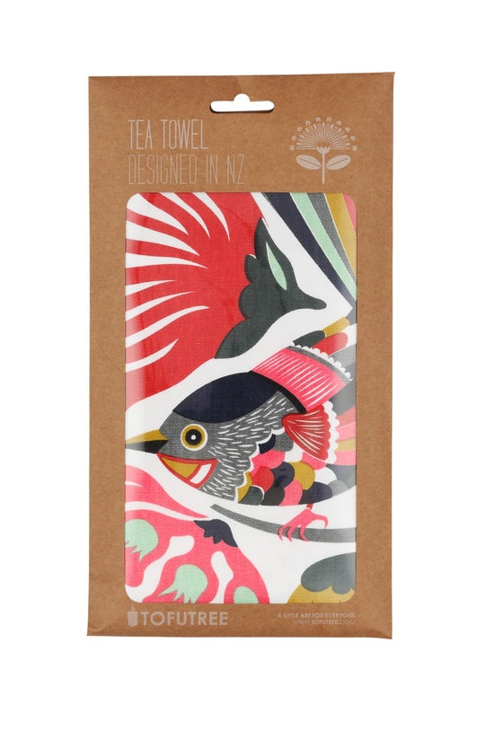 Tofutree Tea Towel Colourful F...