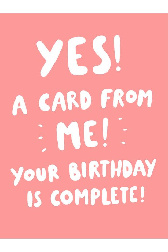 Birthday Card Humorous A Card ...