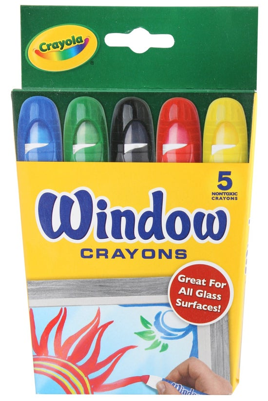 Crayola Washable Window Crayon...