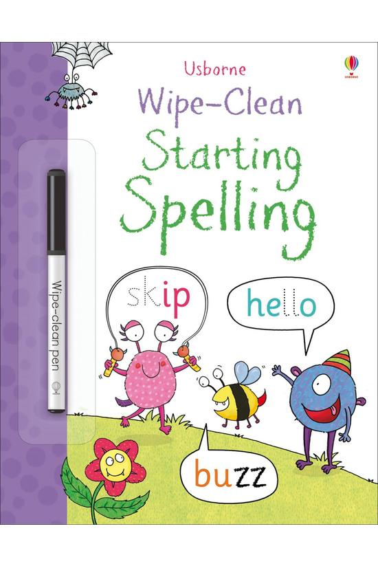 Wipe Clean: Starting Spelling