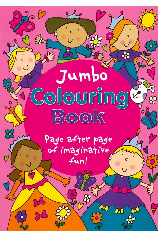 Jumbo Colouring Pink