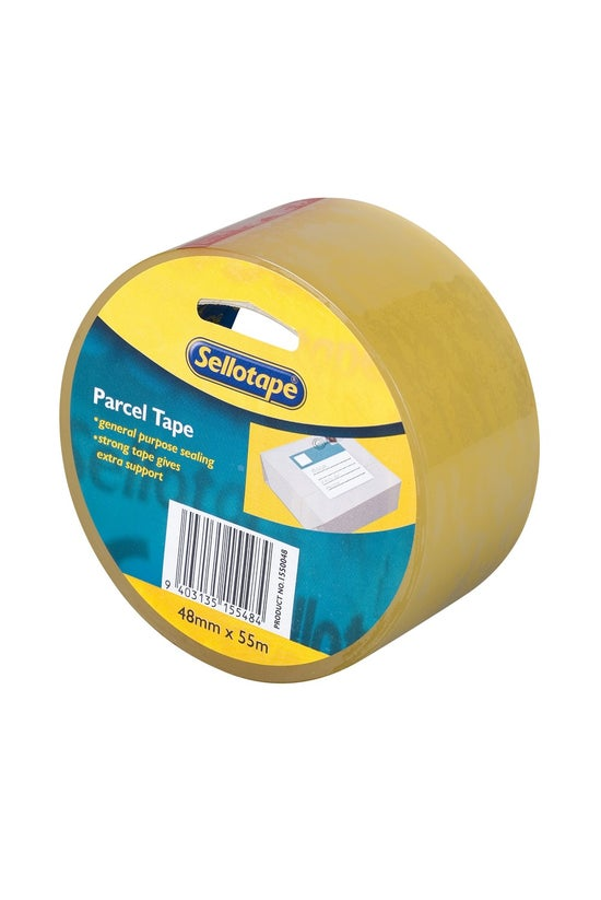Sellotape Parcel Tape Clear 48...