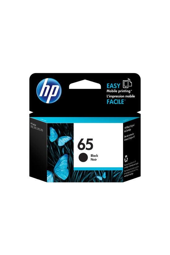 Hp Ink Cartridge 65 N9k02aa Bl...