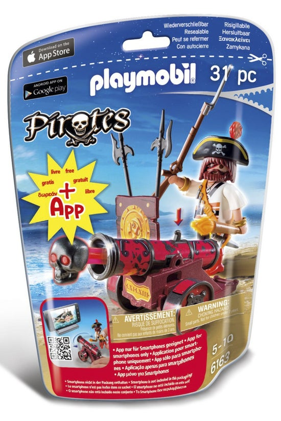 Playmobil Pirates Red Cannon W...