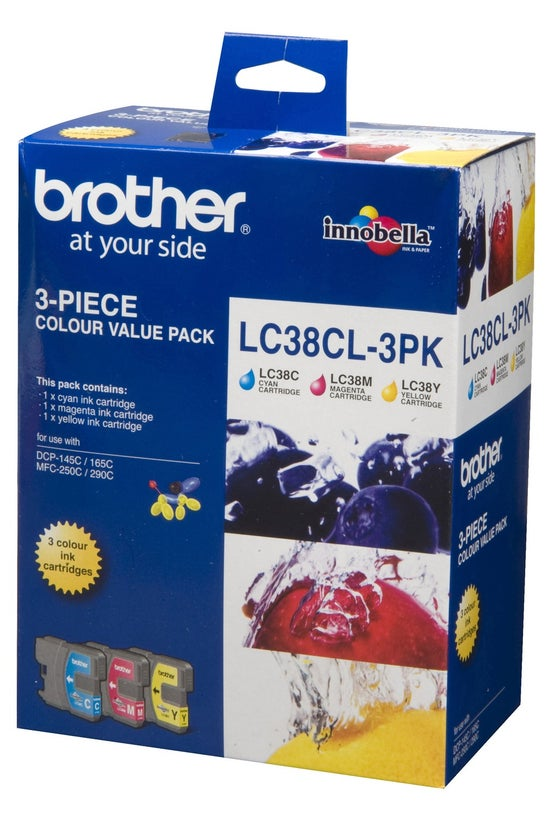 Brother Ink Cartridges Lc38cl3...