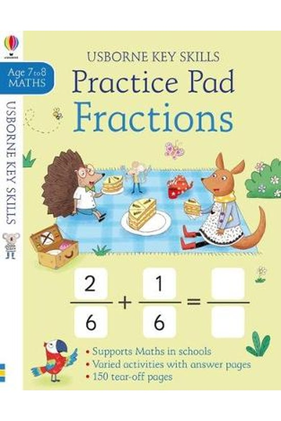 Fractions Practice Pad 7-8