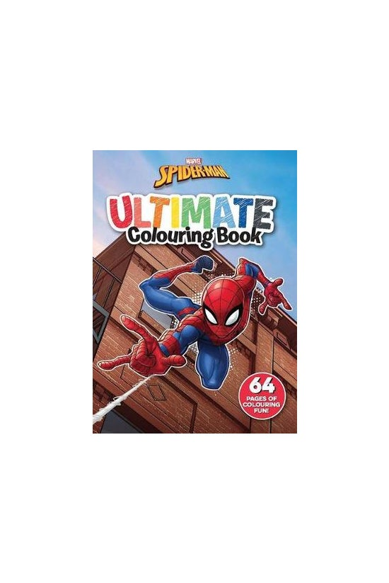 Spider-man: Ultimate Colouring...