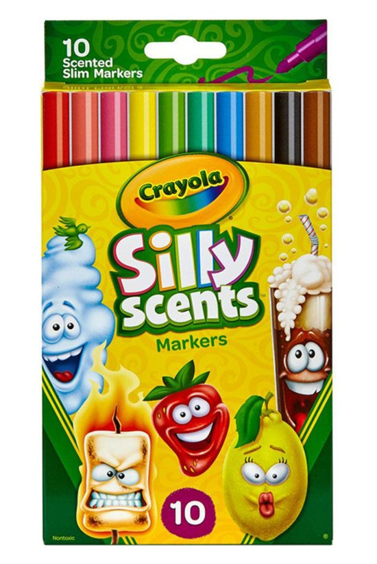 Crayola Sillyscents Slim Marke...