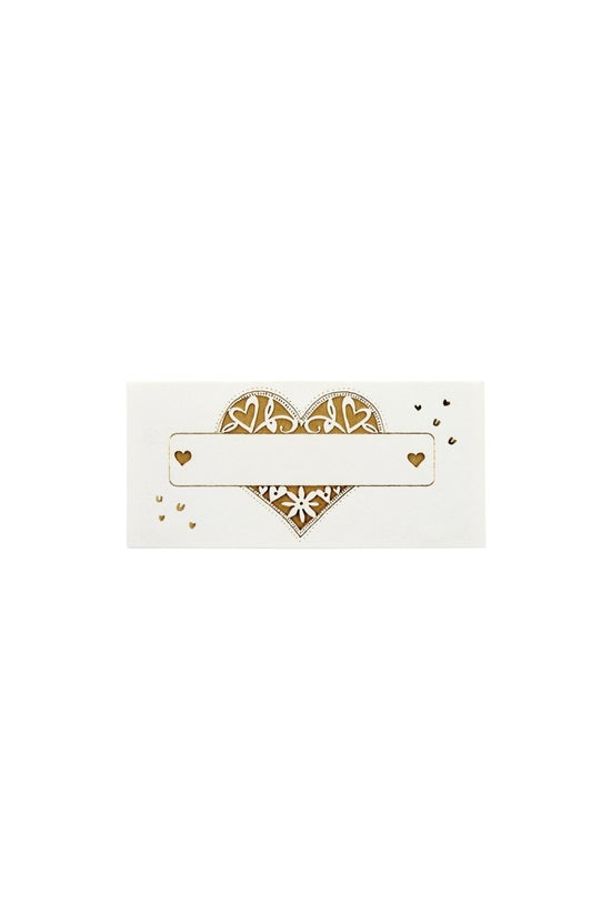 Noted Wedding Place Cards Cut-...