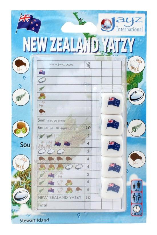 New Zealand Yatzy Dice Game