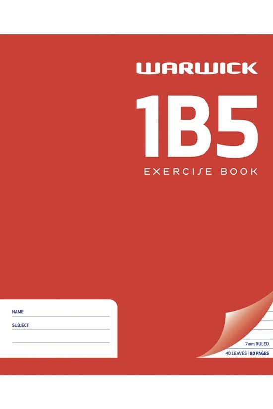 Warwick 1b5 Exercise Book 255 ...