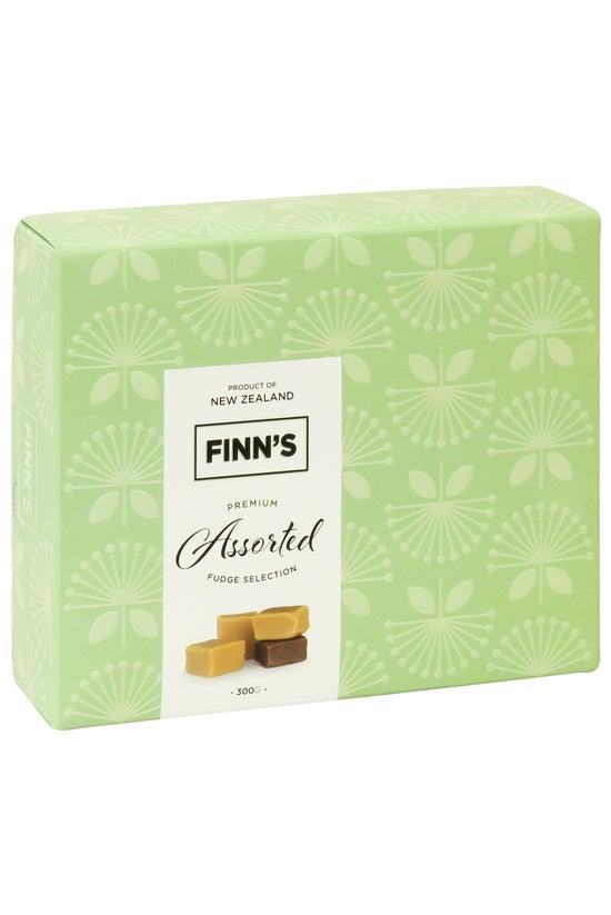 Finn's Fudge Green Gift Box As...