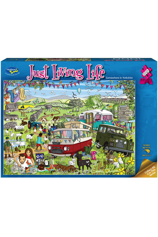Just Living Life: Somewhere In...