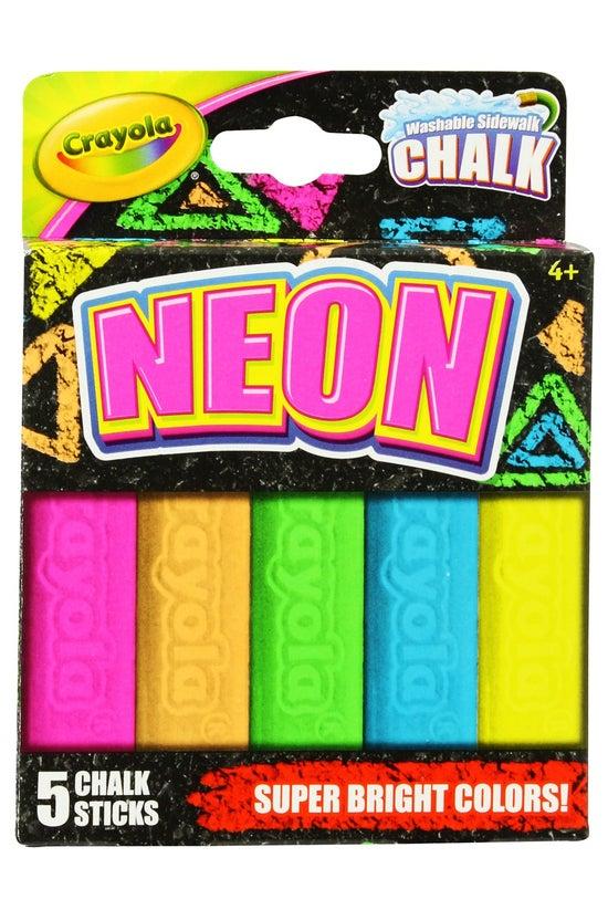 Crayola Neon Sidewalk Chalk Pa...