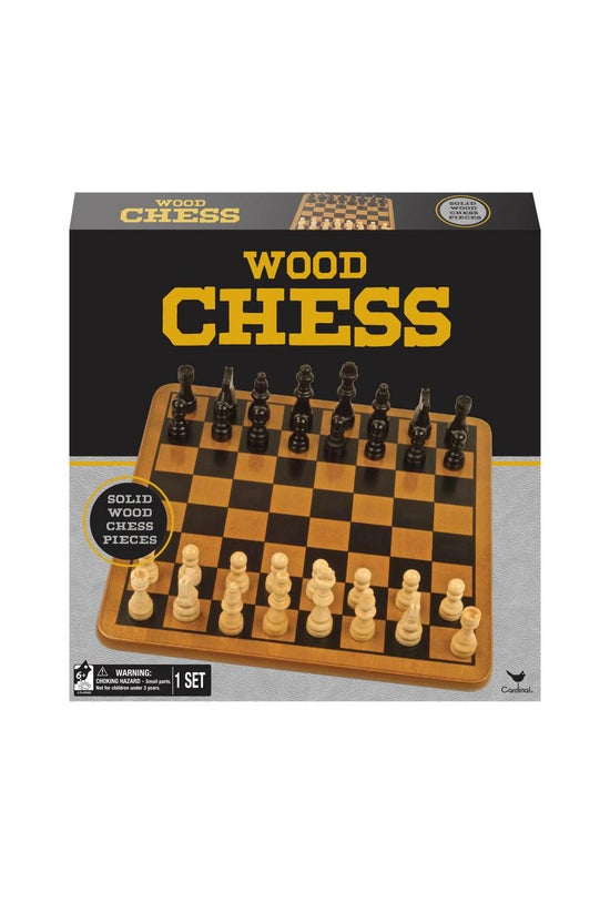 Classic Games: Wood Chess