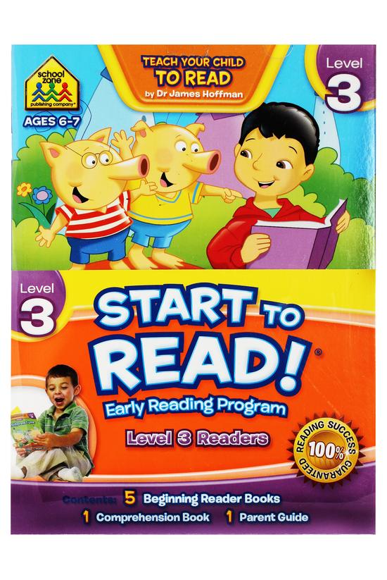 School Zone Start To Read Leve...