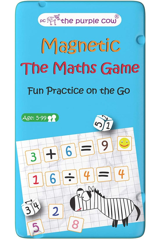 Purple Cow Magnetic Maths Game
