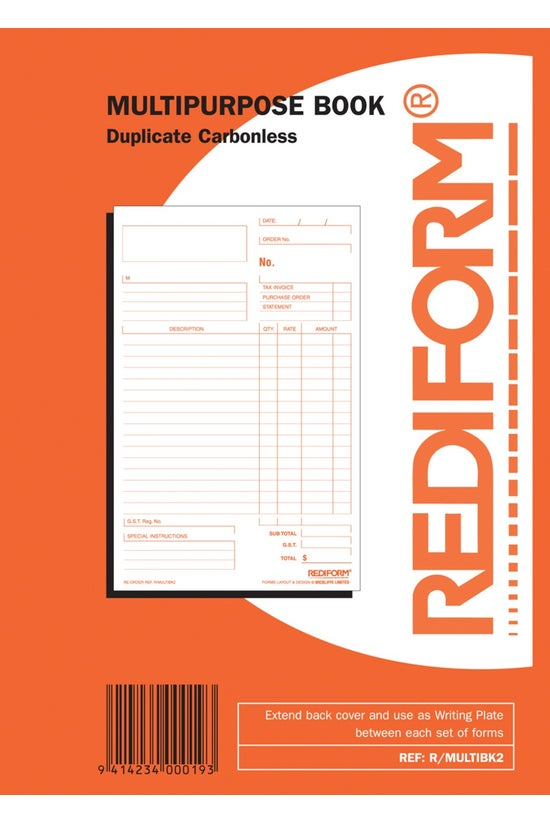 Rediform Multipurpose Duplicat...