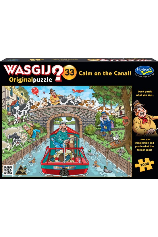 Wasgij Original #33: Calm On T...