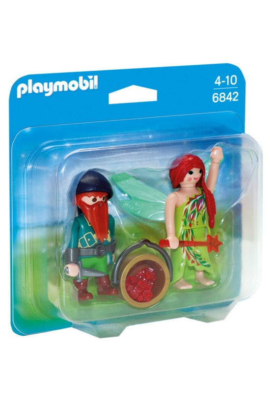 Playmobil Elf And Dwarf 6842