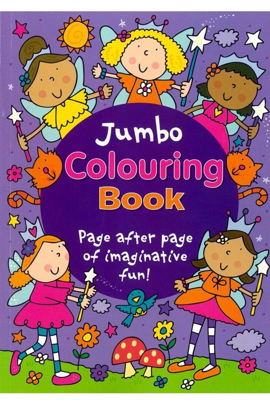 Jumbo Colouring Book Purple
